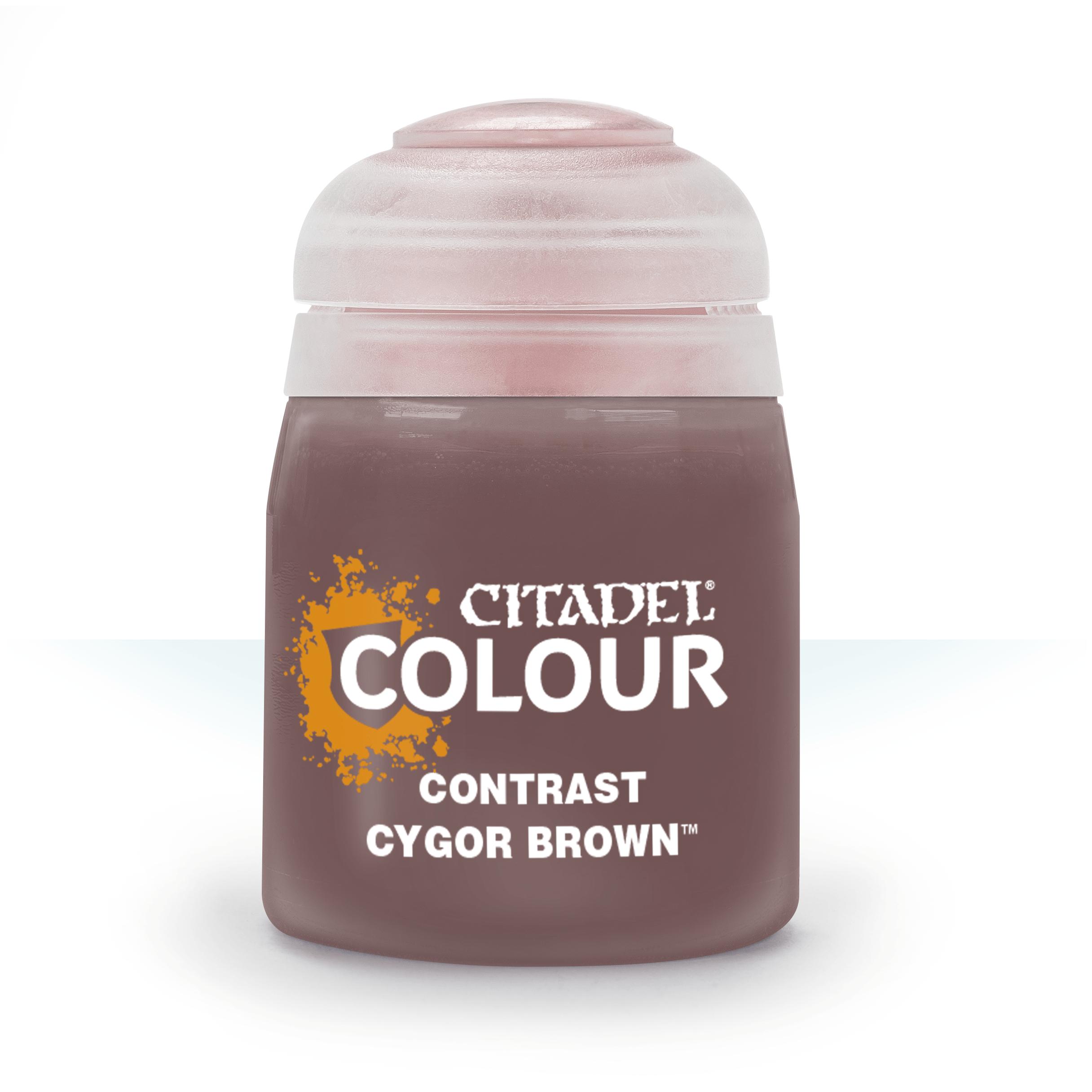 Cygor Brown, Citadel Contrast 18ml