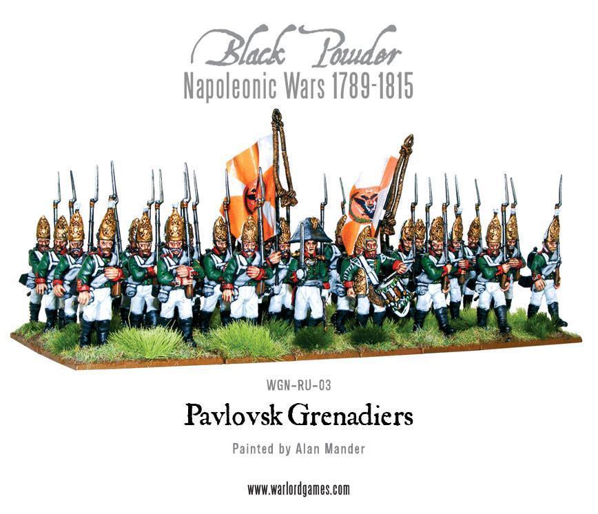 Pavlovsk Grenadier Regiment 1789-1815, NW
