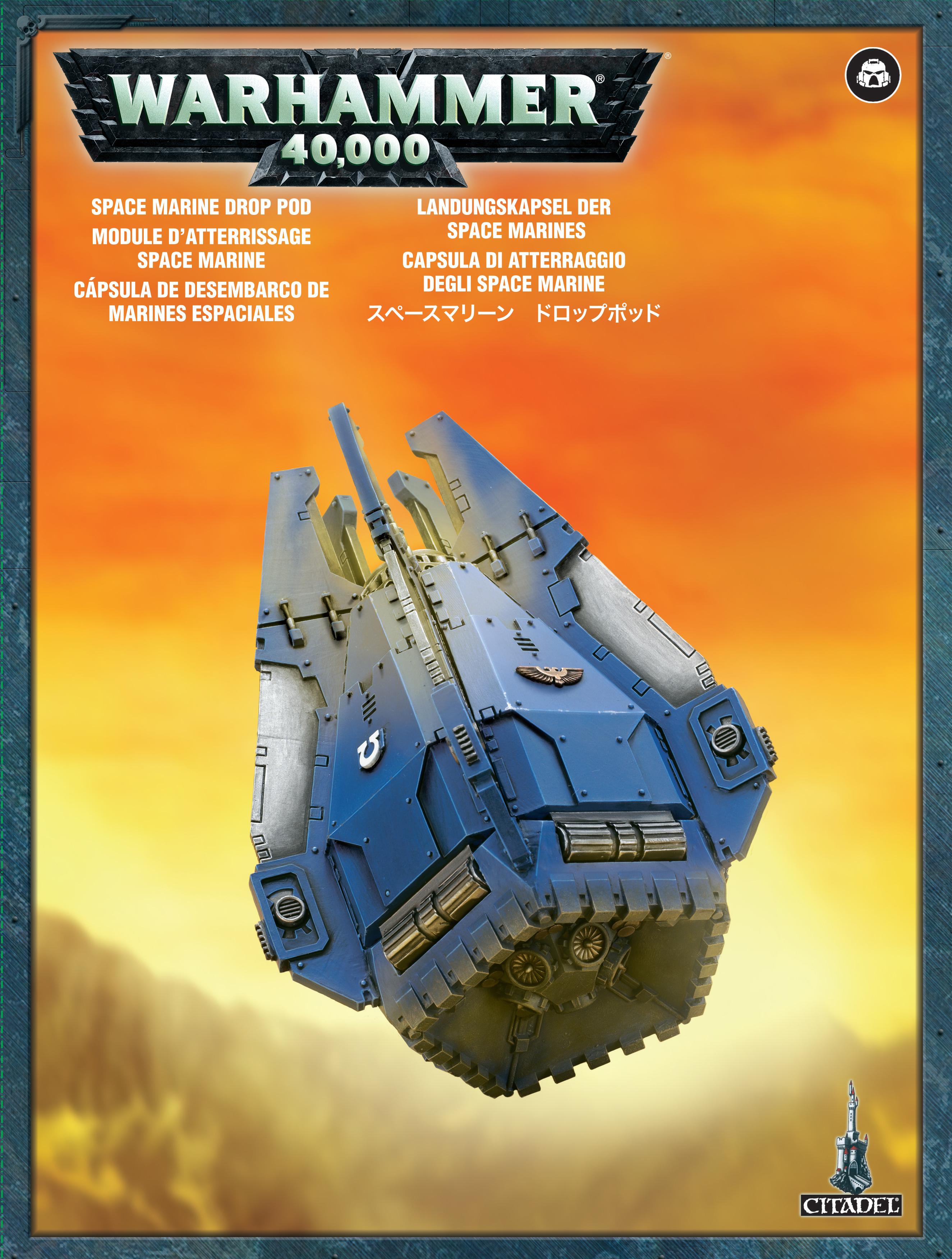 Drop Pod, Space Marine