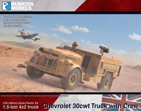 Chevrolet WB 30cwt Truck, Rubicon Models