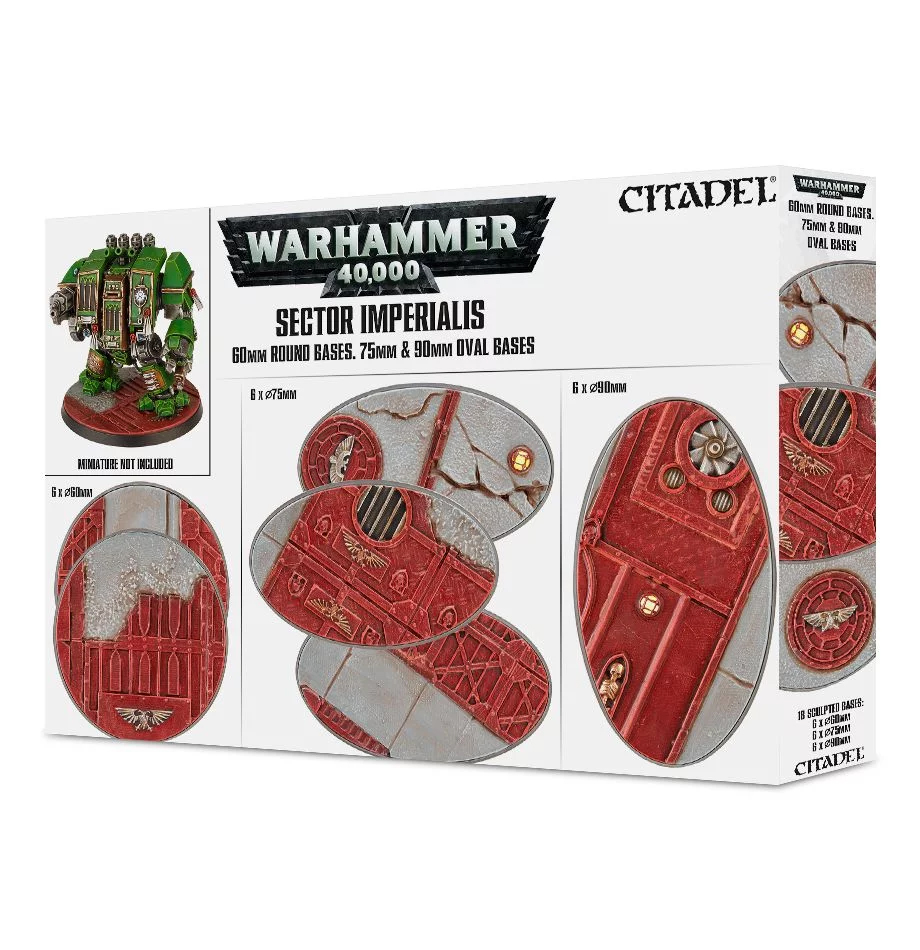 60mm & Oval Bases, Sector Imperialis