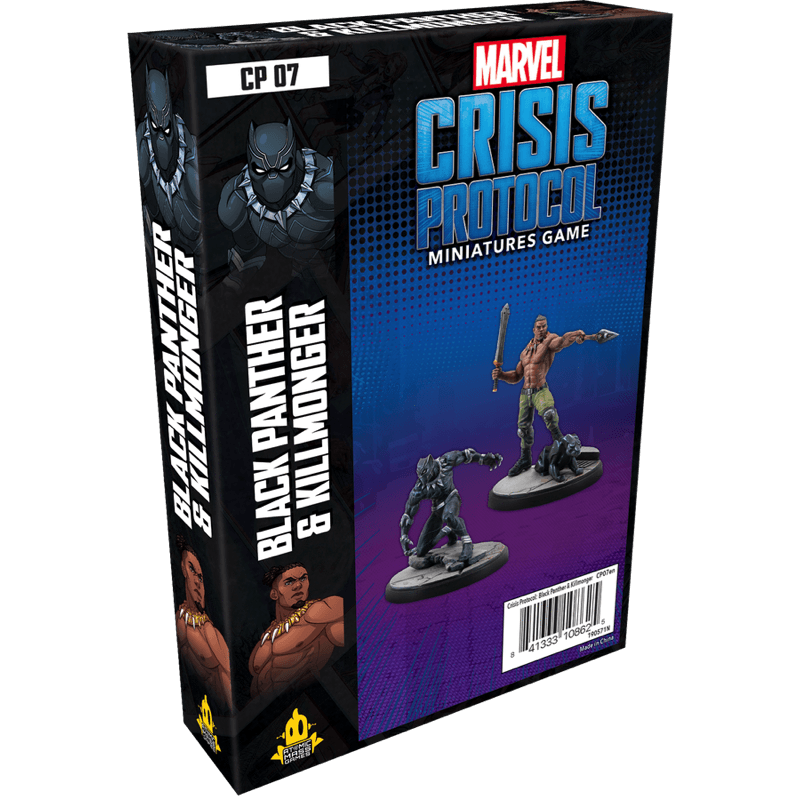Black Panther and Killmonger, Marvel Crisis Protocol
