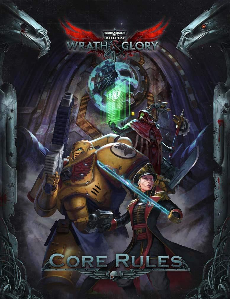 Wrath & Glory Core Rulebook Warhammer 40,000 Roleplay
