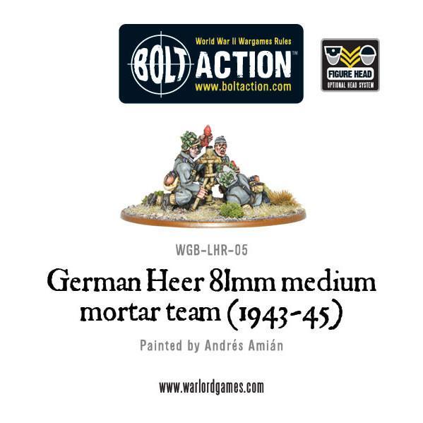 81mm Medium Mortar German