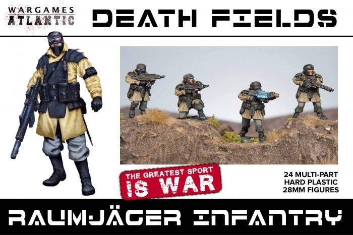 Raumjäger Infantry Box Set, Wargames Atlantic