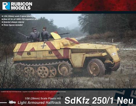 SdKfz 250/1 Neu (aka 250N), Rubicon Models