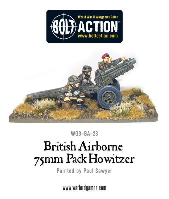 British Airborne 75mm Pack Howitzer