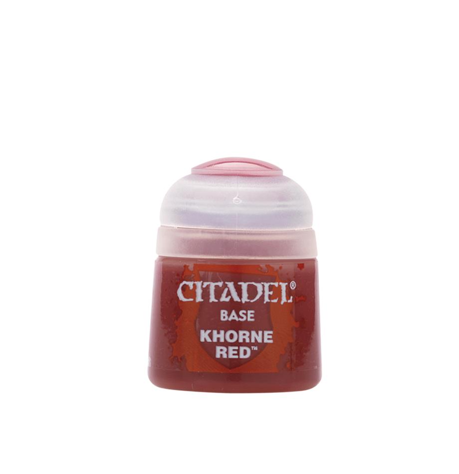 Khorne Red, Citadel Base 12ml