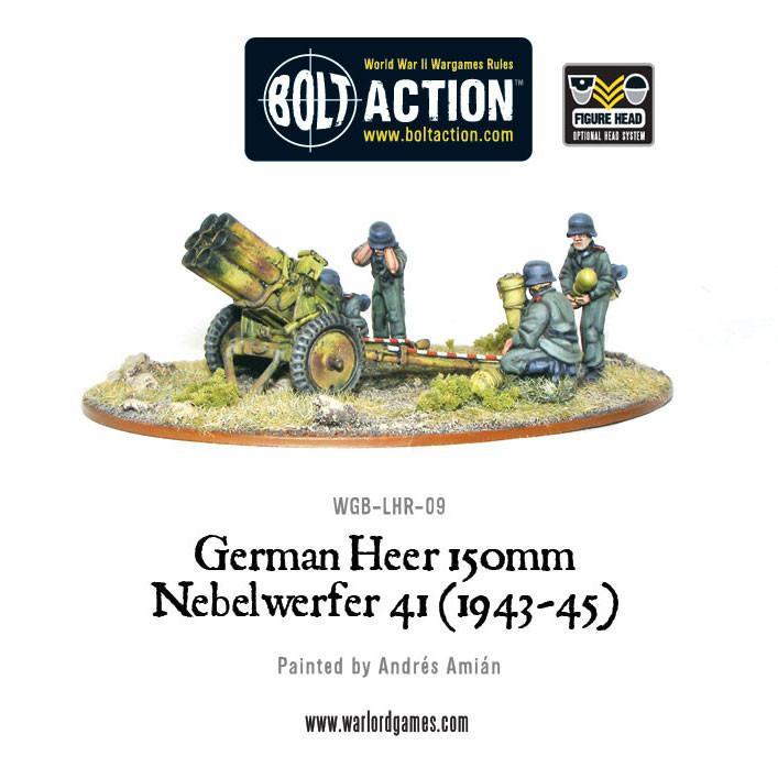 150mm Nebelwerfer 41 (1943-45), Heer