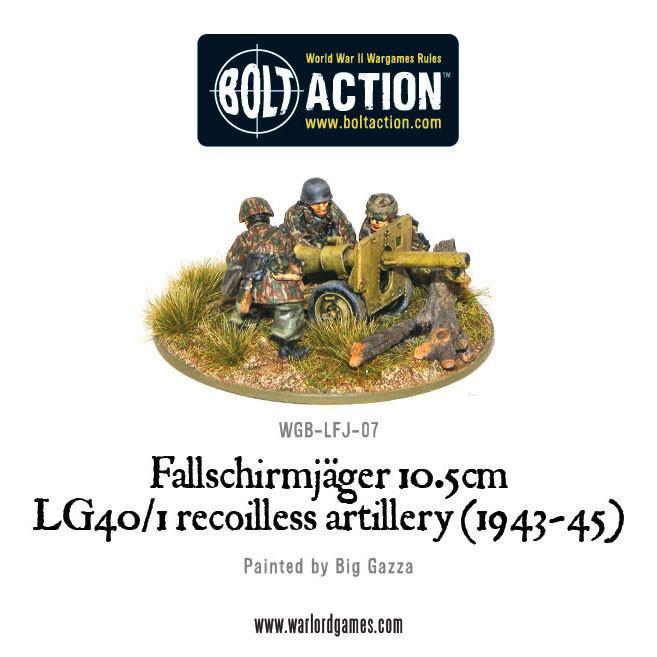 Fallschirmjager 10.5cm LG40/1 Recoiless Artillery