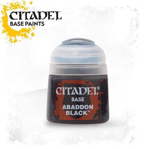 Abaddon Black, Citadel Base 12ml