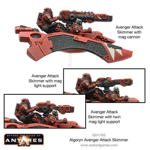 Avenger Attack Skimmer Algoryn