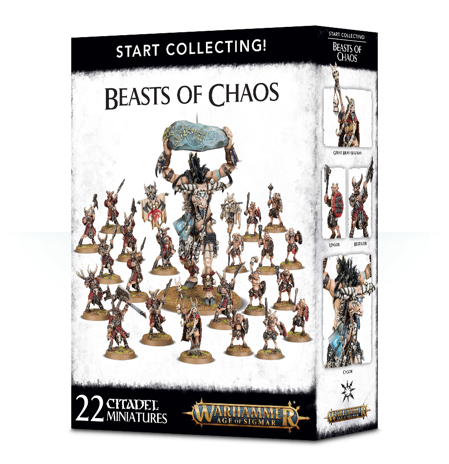 Beasts of Chaos, Start Collecting