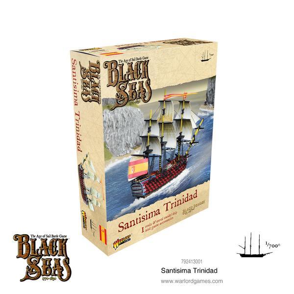 Santisima Trinidad, Black Seas