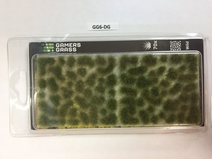 Dry Green Tufts 6mm, Gamer's Grass