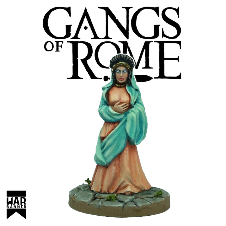 Flavia Graecina, the Domina, Gangs of Rome