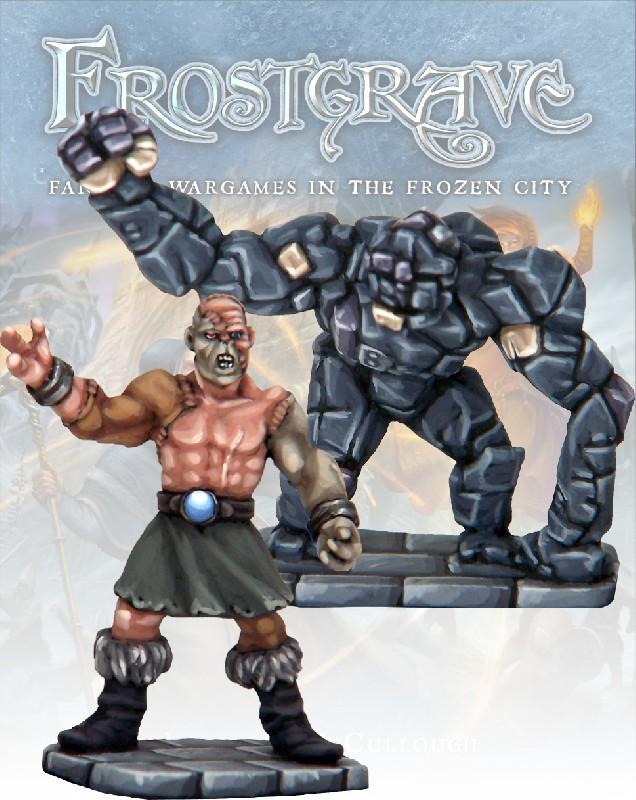 Flesh Golem and Stone Construct, Frostgrave