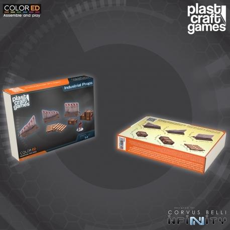 Industrial Props (Crates, Pallets, roadblocks), Plast Craft Games