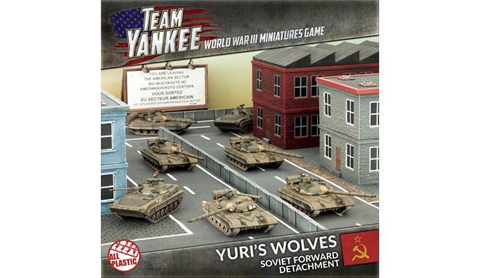 Yuri's Wolves, Team Yankee