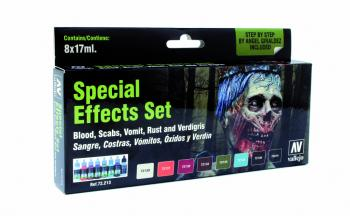 Special Effects Set (x8), Game Color Set Vallejo