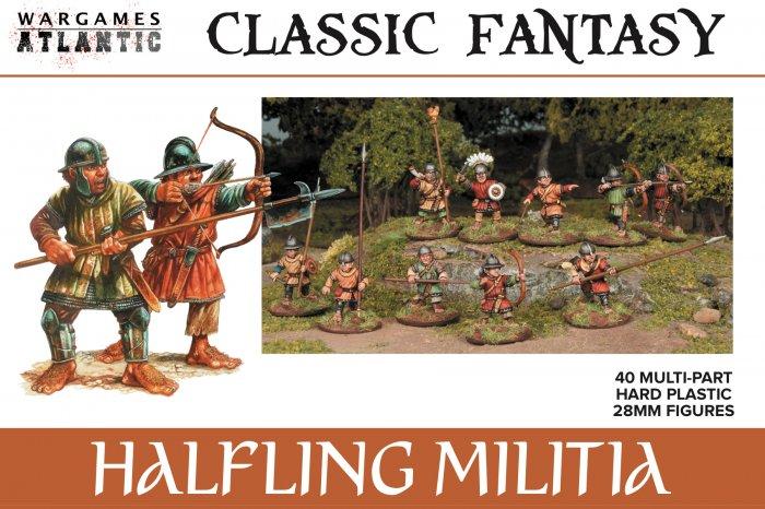 Halfling Militia, Wargames Atlantic
