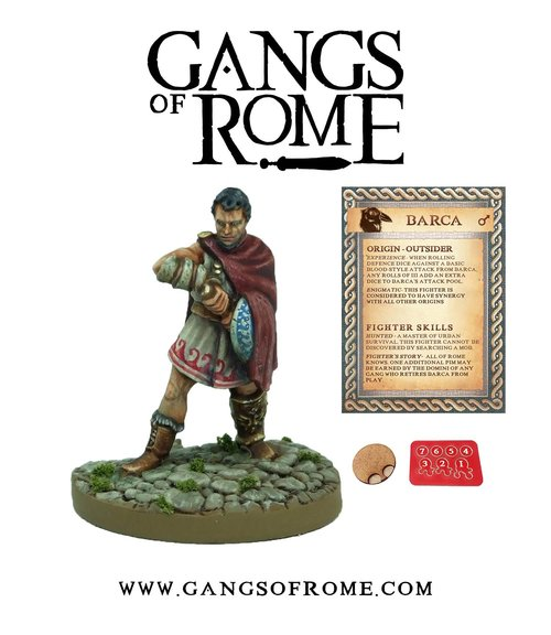 Barca, Gangs of Rome
