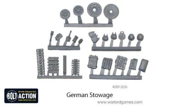 Stowage Pack German