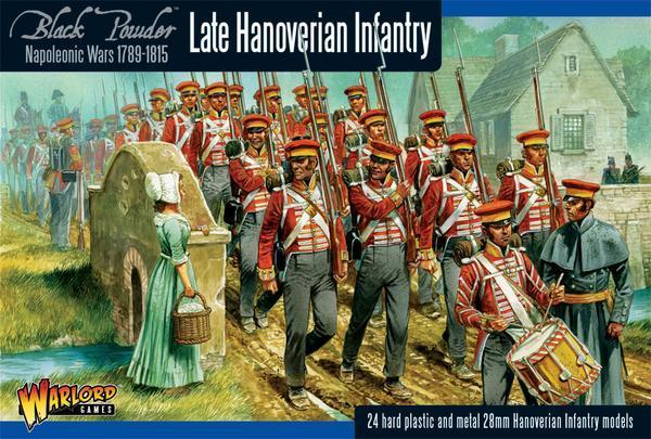 Late Hanoverian Infantry