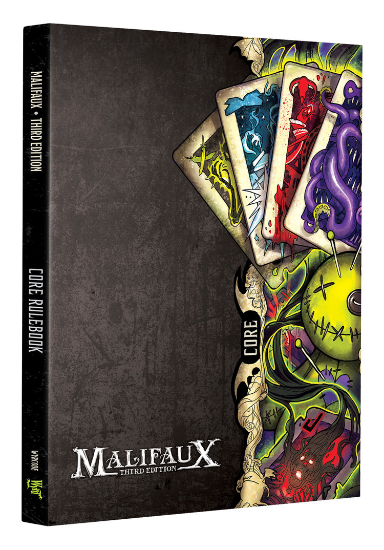 Malifaux Core Rulebook 3rd Edition