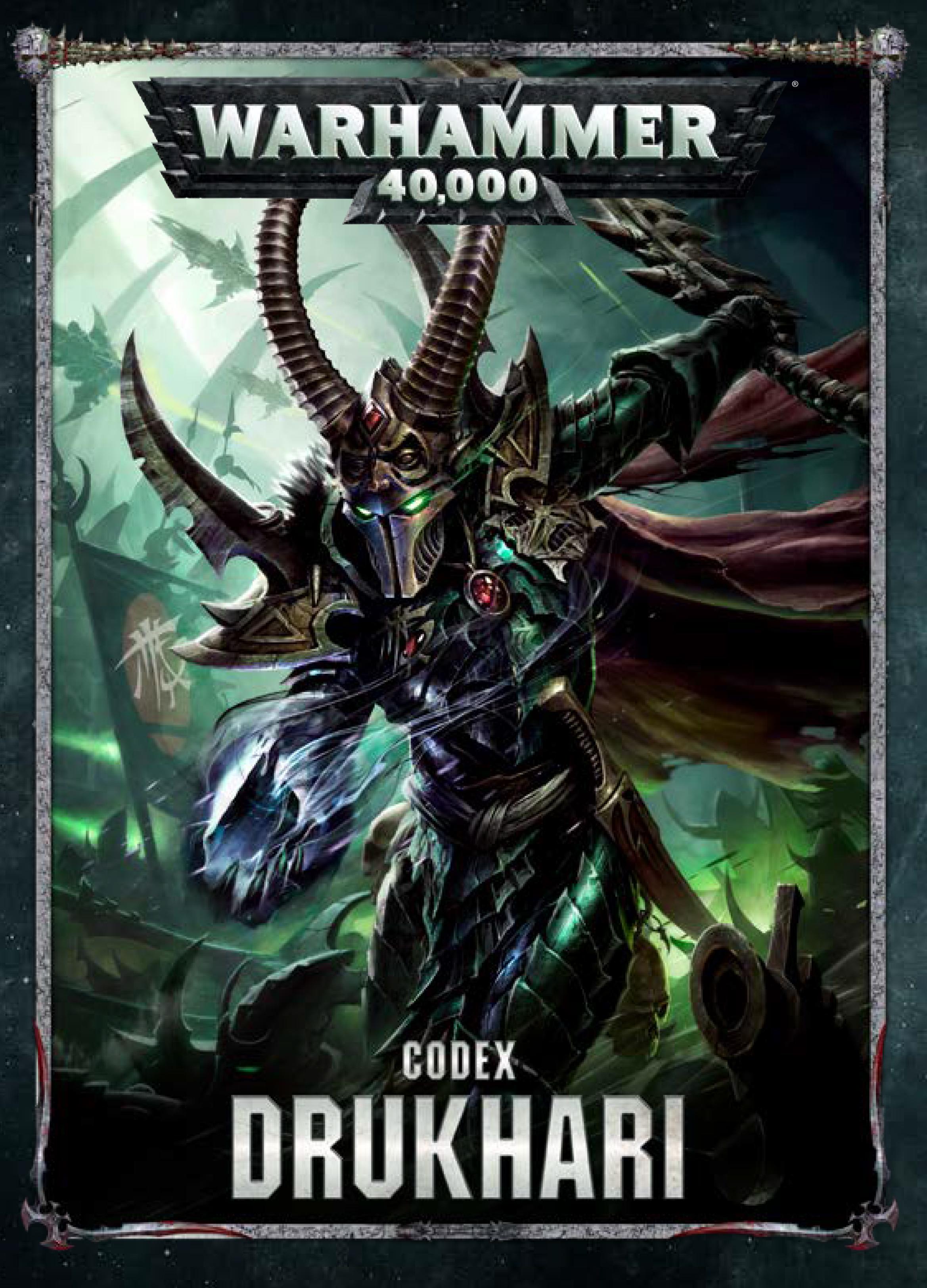 Drukhari Codex