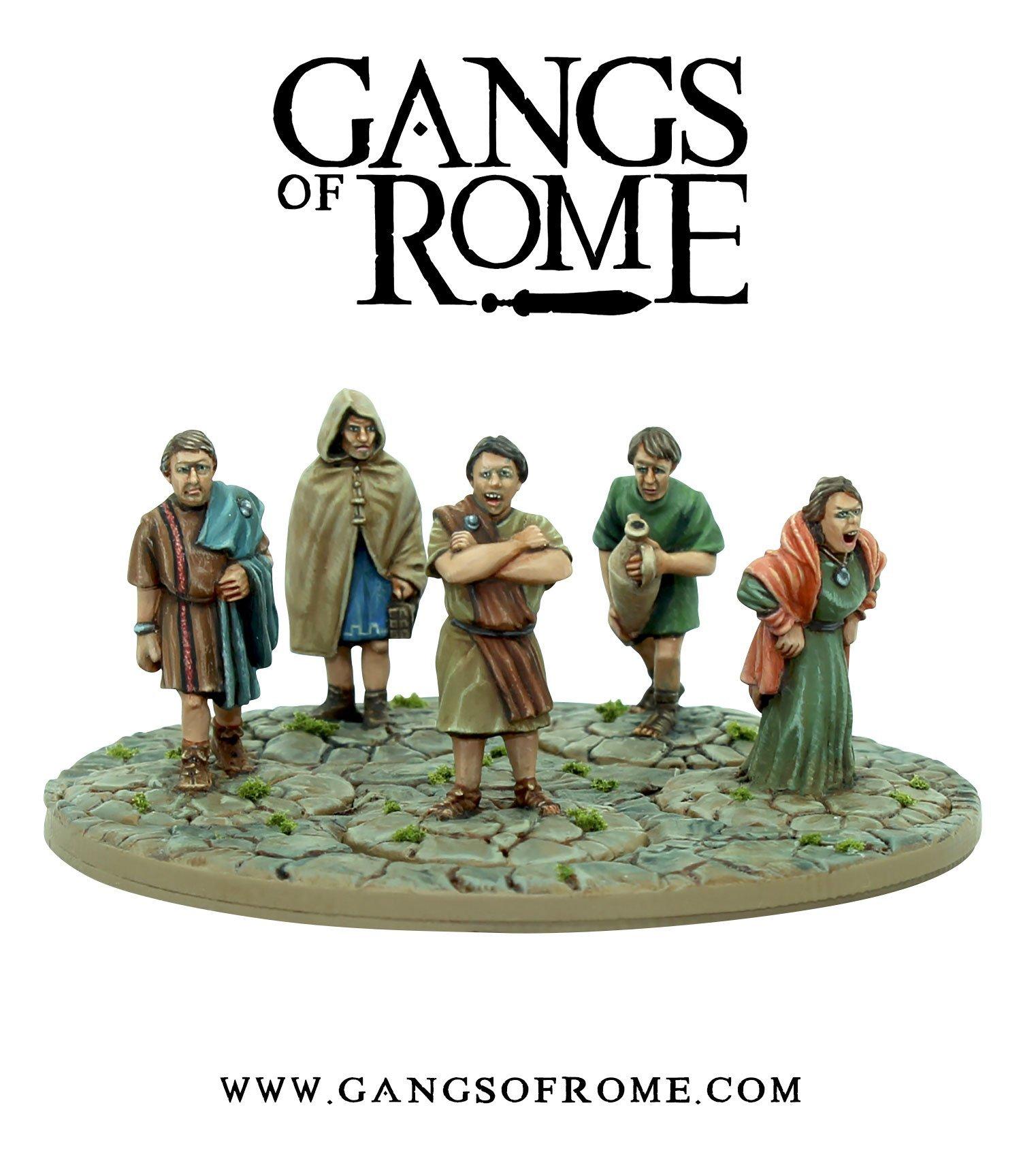 Mob Tertius, Gangs of Rome