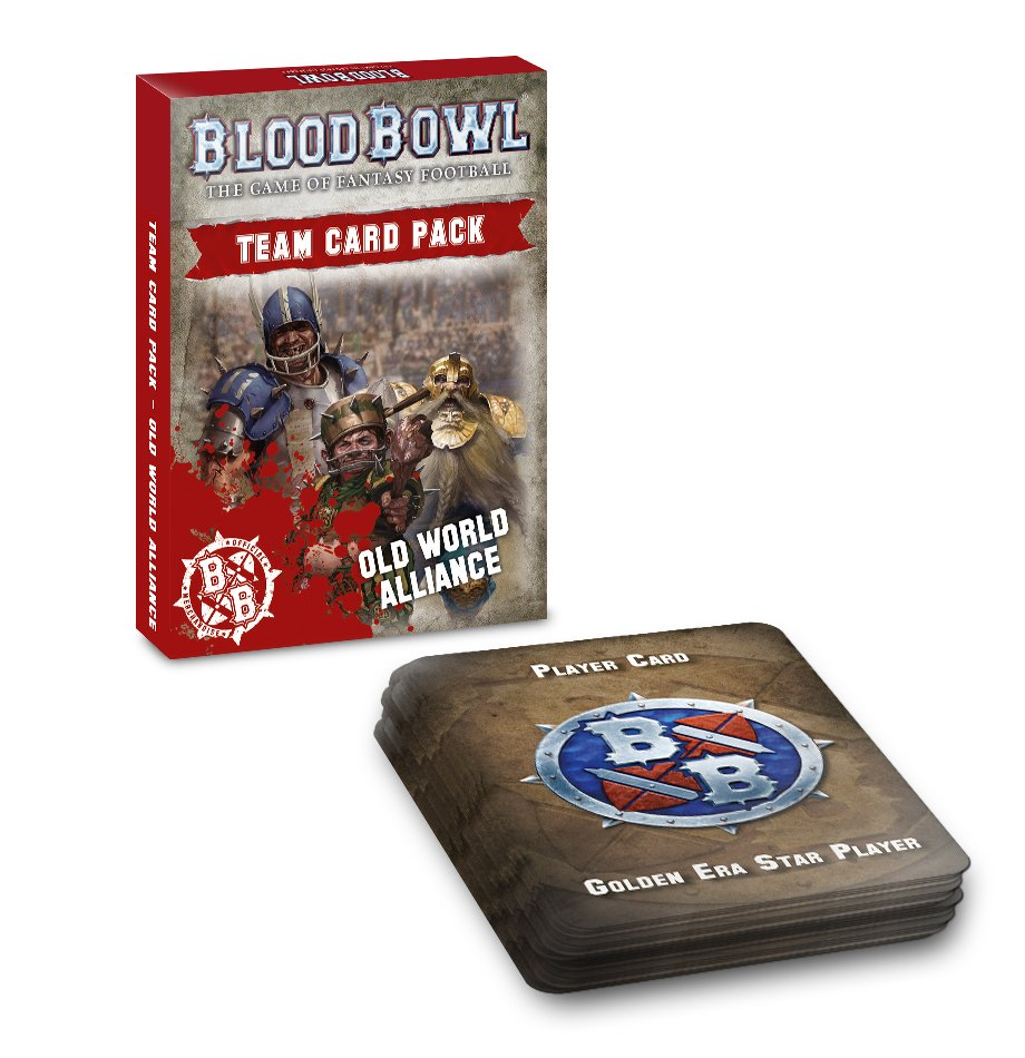 Old World Alliance Team Card Pack, Blood Bowl