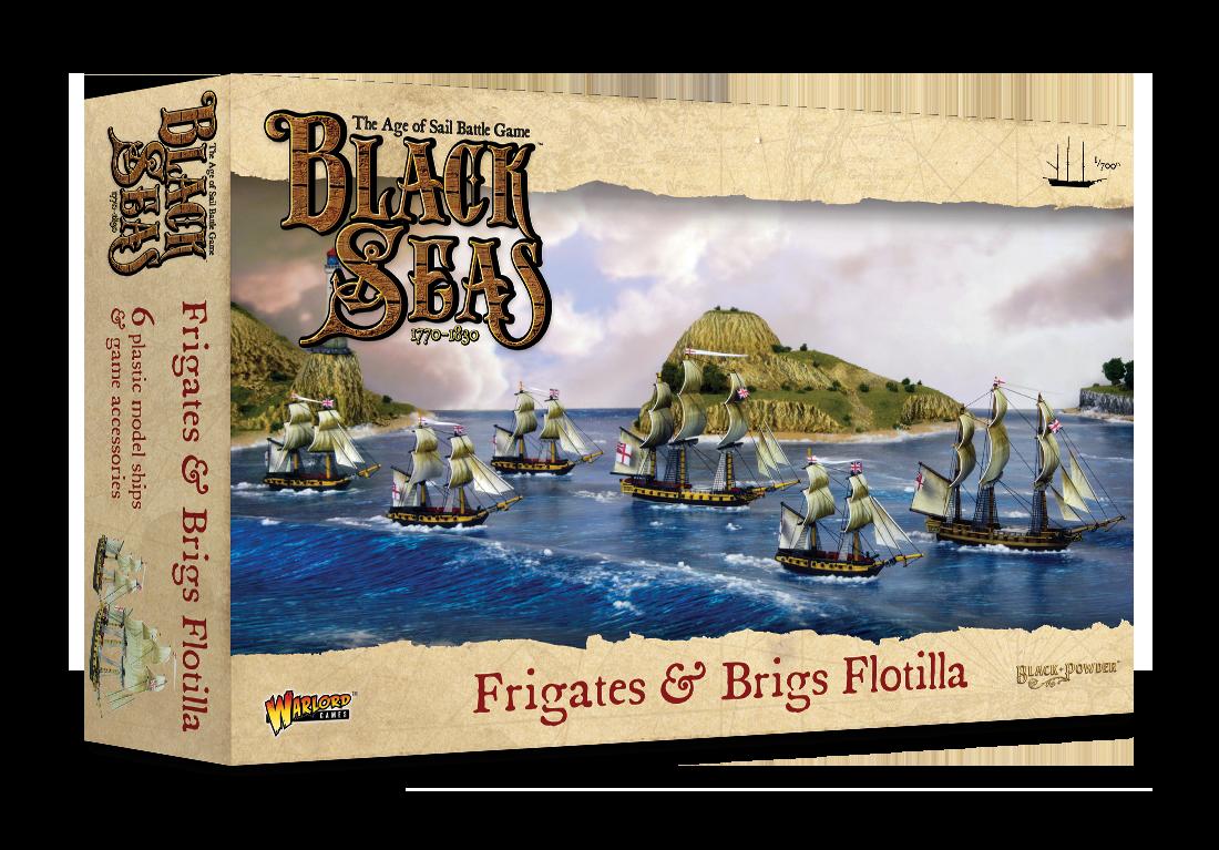 Frigates & Brigs Flotilla, Black Seas