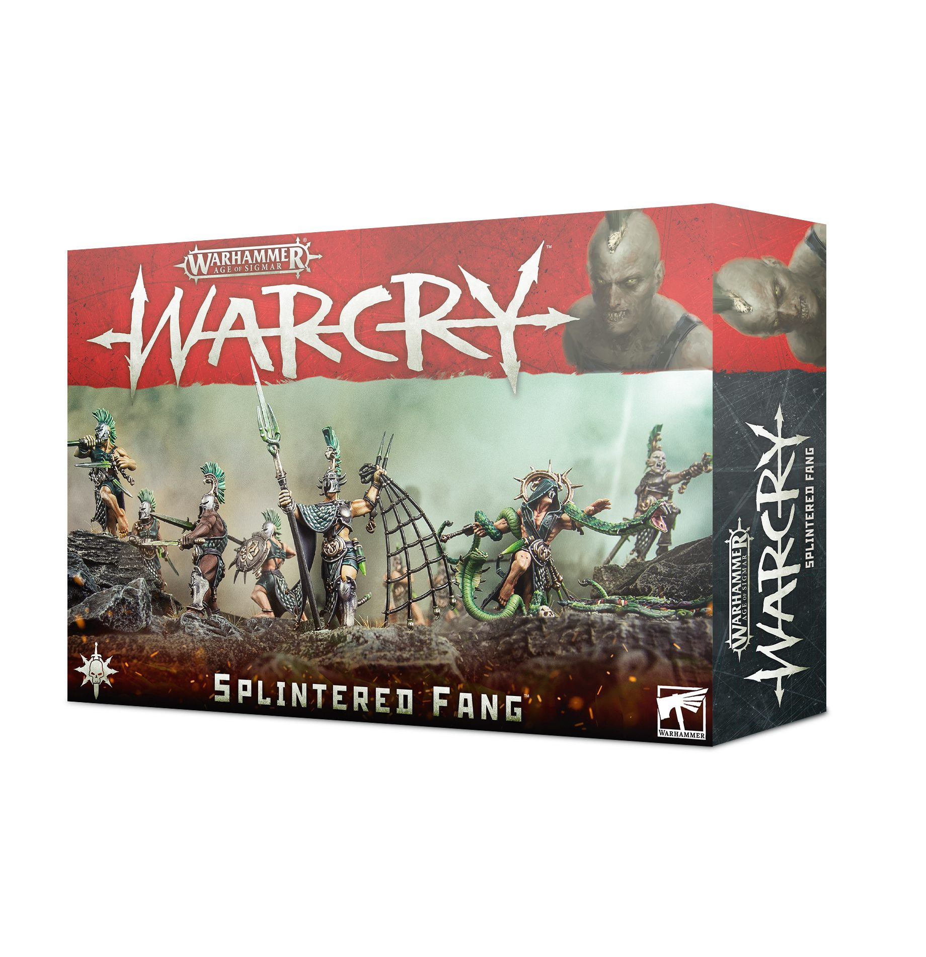 The Splintered Fang, Warcry