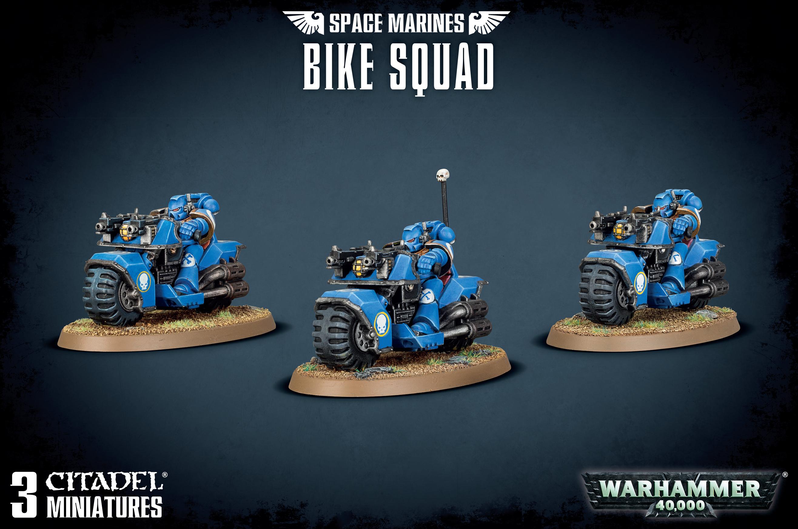 Bike Squad, Space Marine
