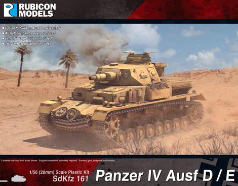 Panzer IV Ausf D/E, Rubicon Models