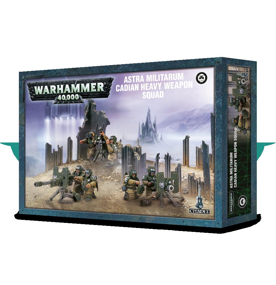 Heavy Weapon Squad, Astra Militarum Cadian