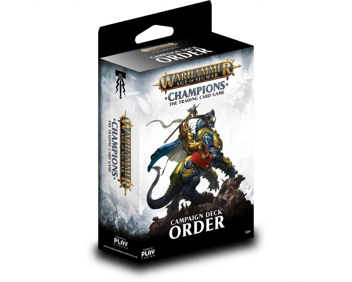 Champions Campaign Deck - Order, Warhammer Age of Sigmar Champions Wave 1