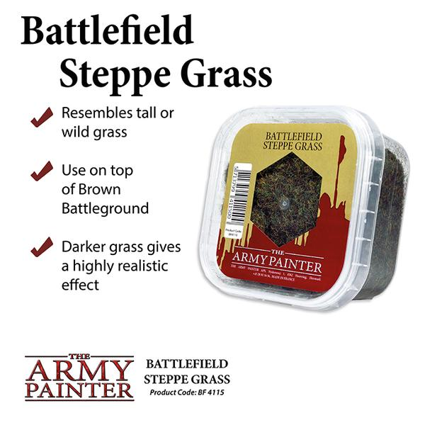Battlefield Steppe Grass, Army Painter