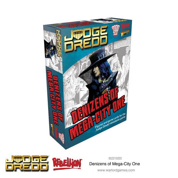 Denizens of Mega City 1, Judge Dredd