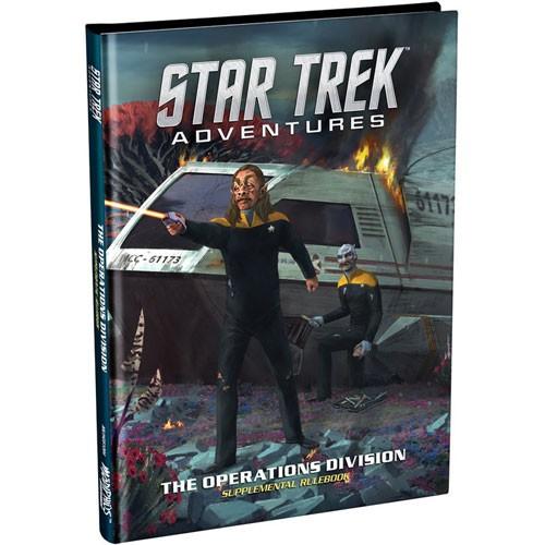 Operations Division  Star Trek Adventures Supplementary Rulebook