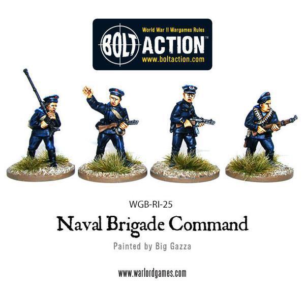 Command, Soviet Naval Brigade