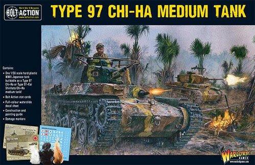 Chi-Ha Japanese tank (plastic)