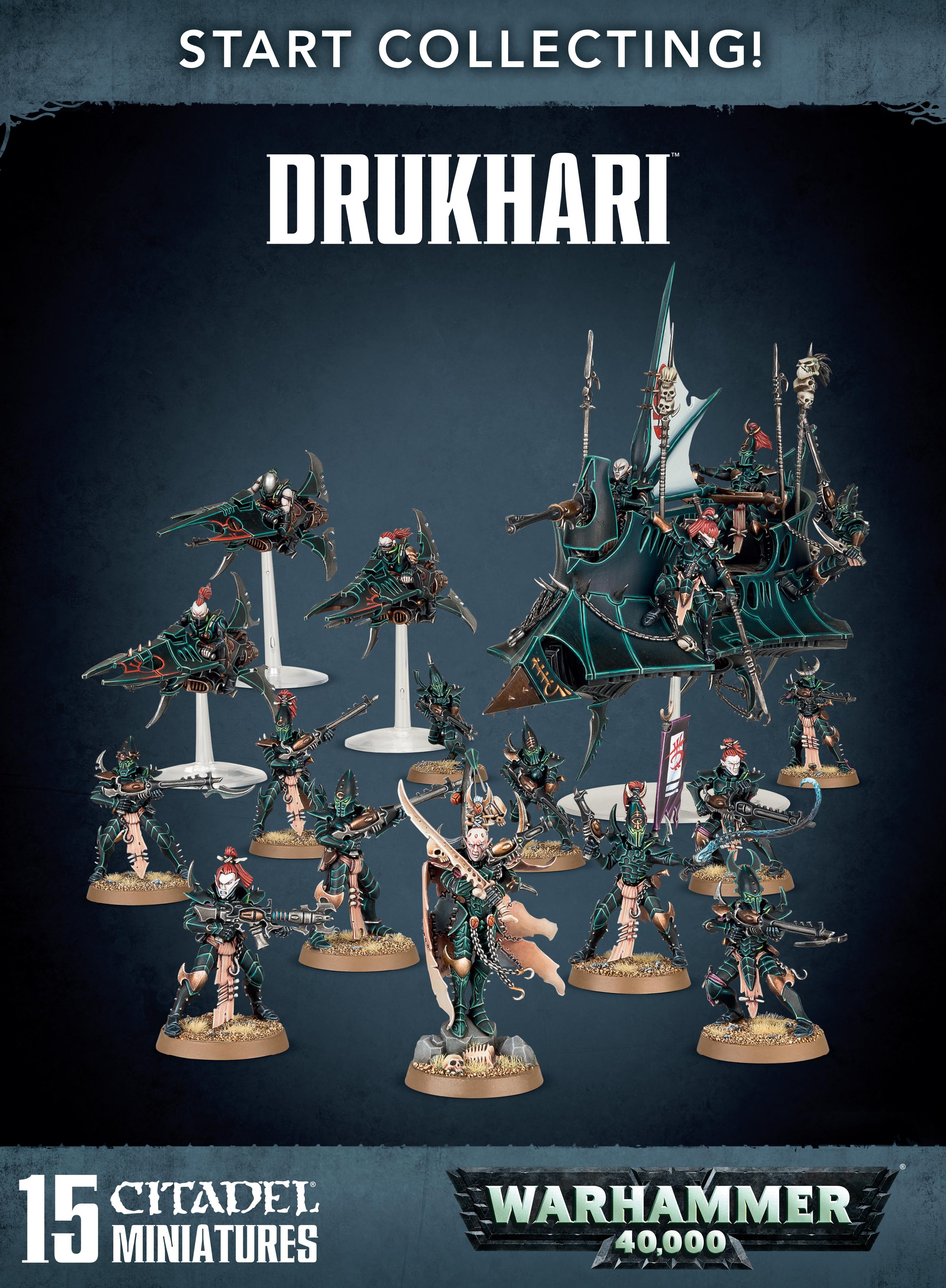 Drukhari, Start Collecting