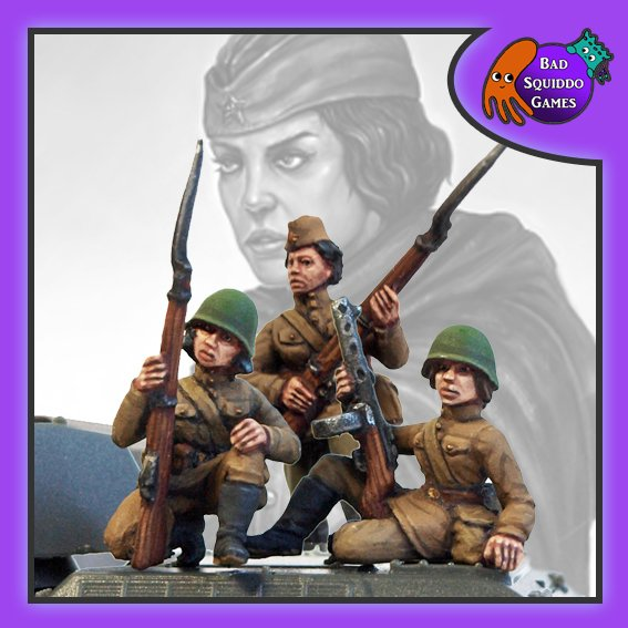 Soviet Tank Riders (3), Bad Squiddo Games