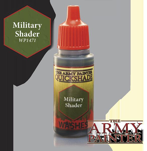 Military Shader, Army Painter Shade
