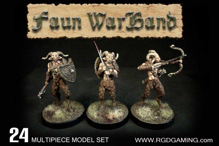 Faun Warband, Wargames Atlantic