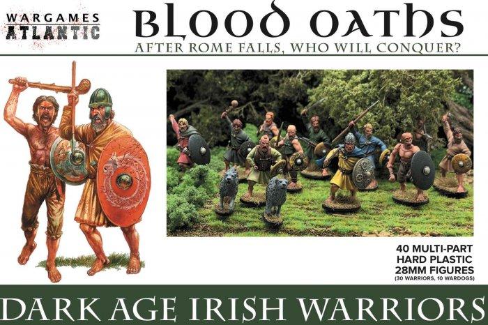 Dark Age Irish Warriors, Wargames Atlantic