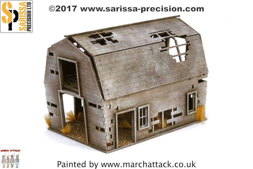 Ghost Town Derelict Barn, Sarissa Precision