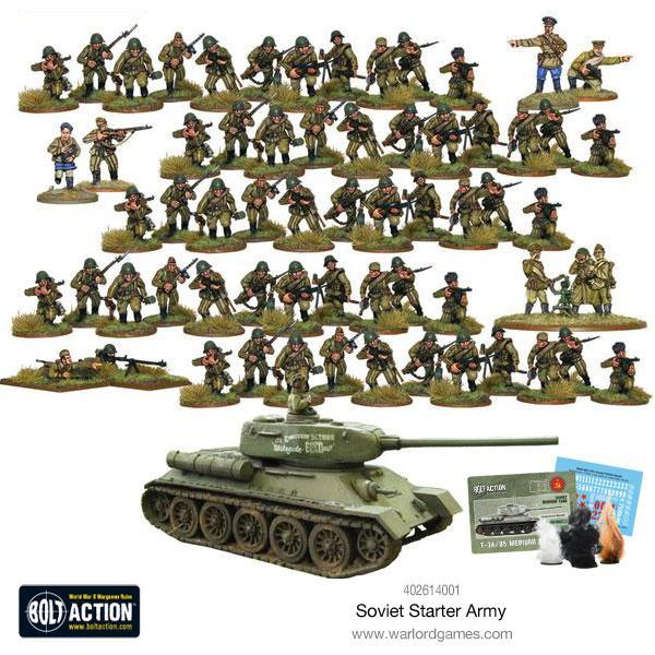 Starter Army, Soviet Army